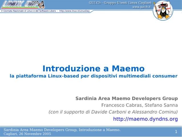 Introduzione a Maemo