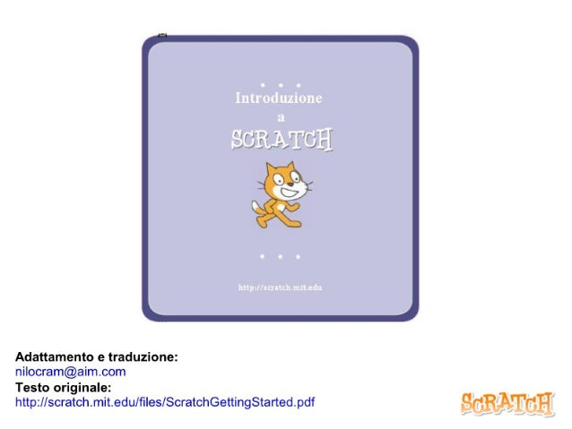 Introduzione a Scratch