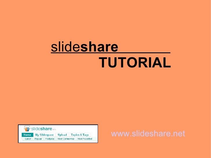 Introduzione a Slideshare