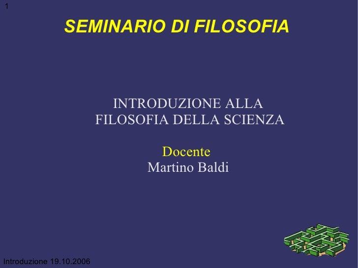 Introduzione Alla Filosofia Della Scienza 01