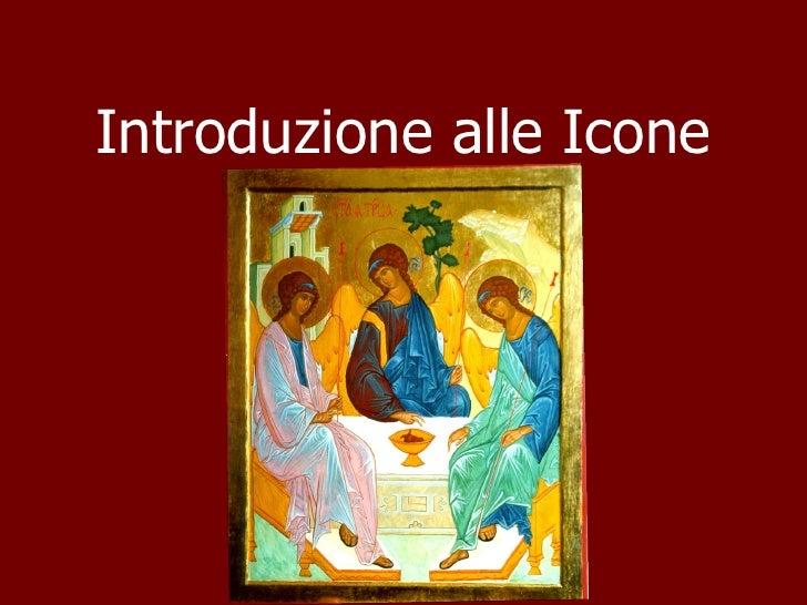 Introduzione alle Icone