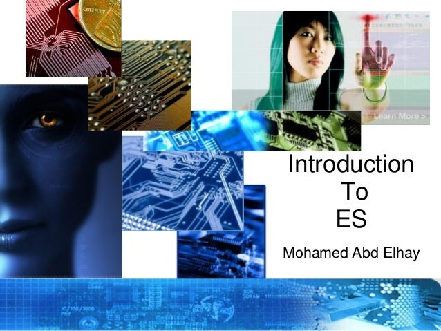 Introduction To ES Mohamed Abd Elhay  Copyright © 2012 Embedded Systems Committee