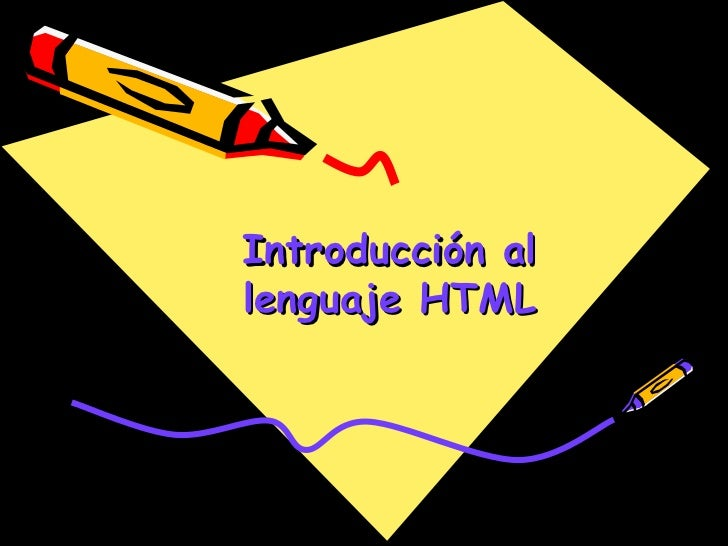 Introducción allenguaje HTML                  1