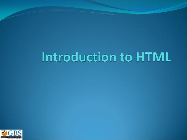 Introhtml 2