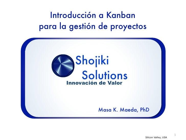 Introducción a Kanban para la gestión de proyectos