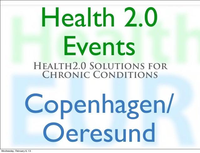 Ben Heubl, Health 2.0 Copenhagen kickoff presentation  (Feb. 6))