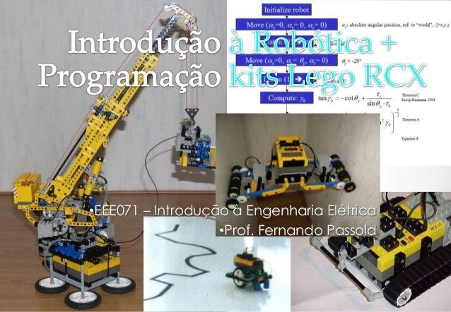 •EEE071 – Introdução à Engenharia Elétrica                   •Prof. Fernando Passold                                  Vers...