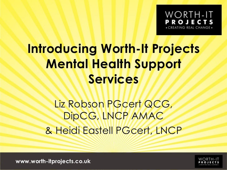 Intro mental health support