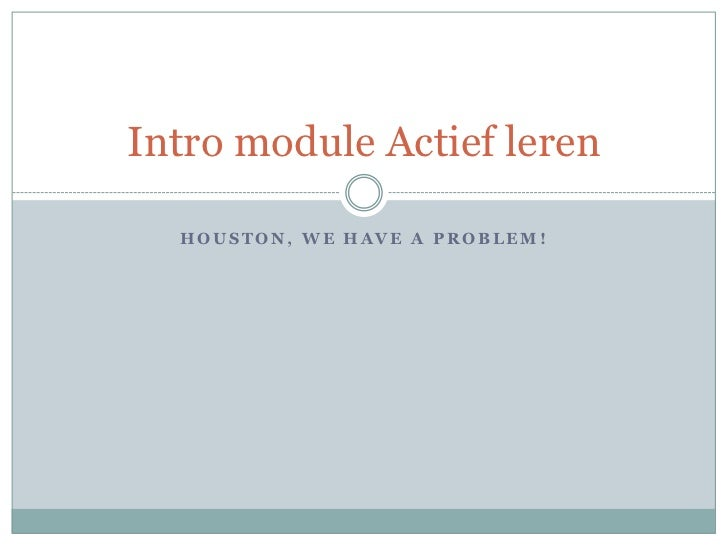 Intro module actief_leren_1011