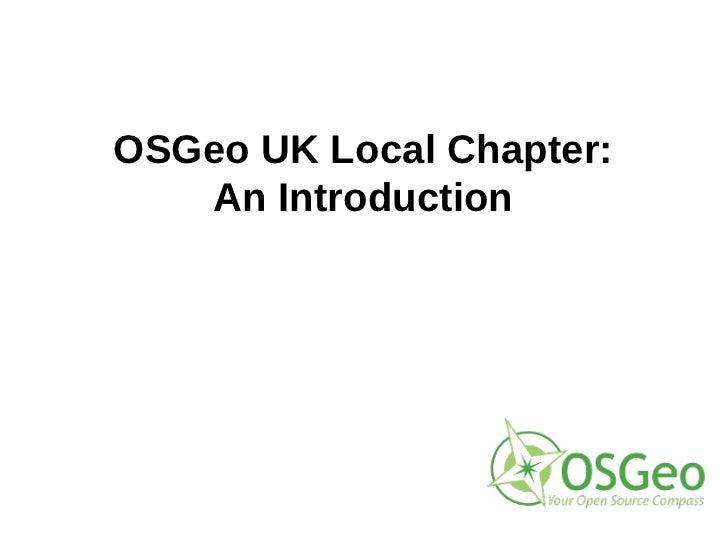 Introduction to OSGeo:UK