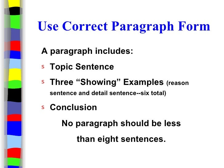 An introductory paragraph should always include