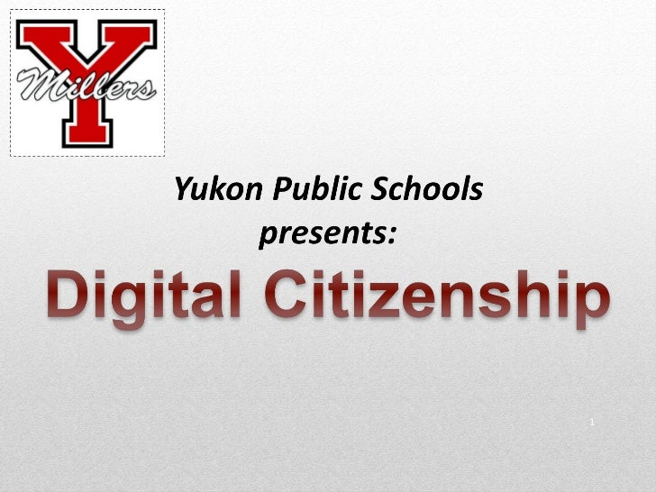 YPS Digital Citizenship - Lesson 1