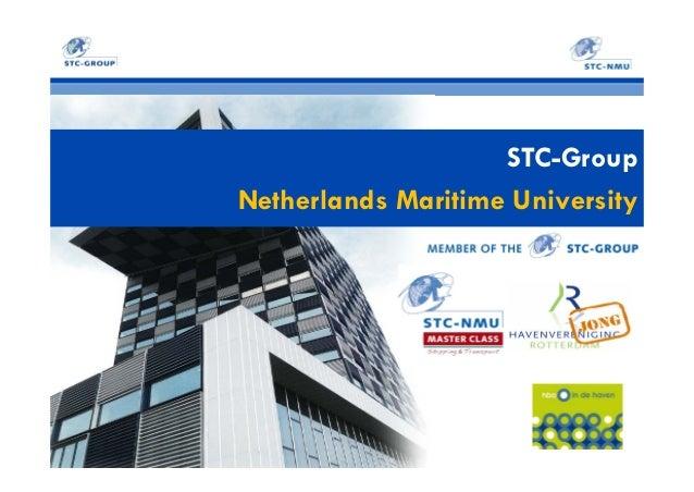 STC-Group Netherlands Maritime University