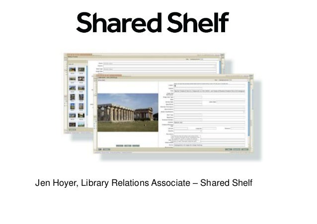 Jen Hoyer, Library Relations Associate – Shared Shelf