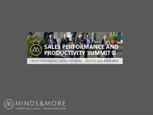 About 2 • The only annual event in Belgium that is 100% dedicated to Sales Performance and Productivity. Summit organized ...
