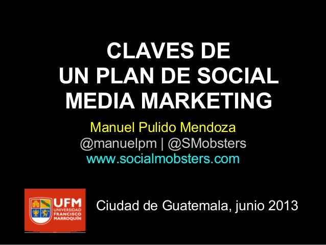 Claves de un Plan de Social Media Marketing