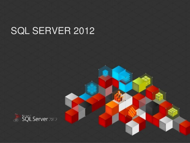 SQL SERVER 2012This document has been prepared for limited distribution within Microsoft. This documentcontains materials ...