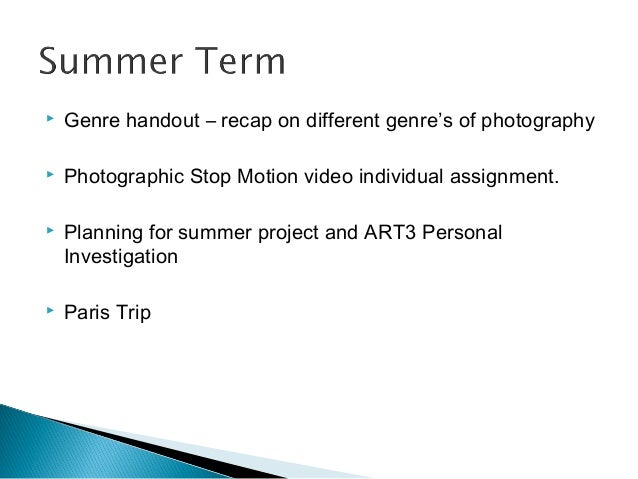 Photography a2 essay help