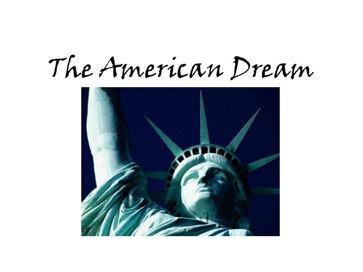 The American Dream<br />A visual essay<br />
