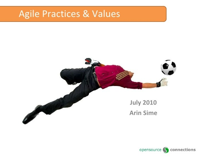 Intro to Agile Practices and Values