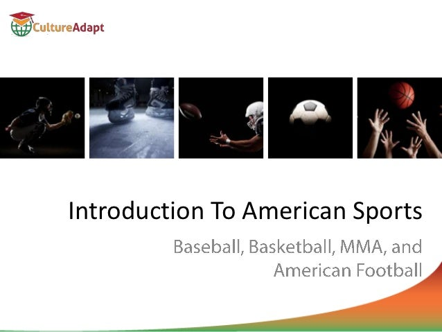 Introduction to american sports