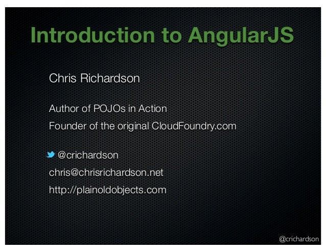 Introduction to AngularJS (@oakjug June 2013)
