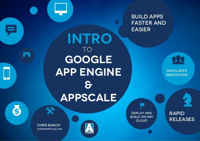 Intro to App Engine and AppScale