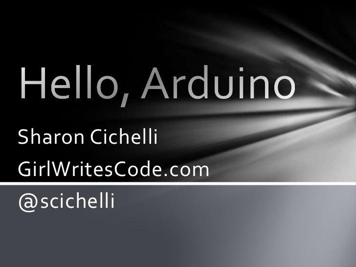 Sharon CichelliGirlWritesCode.com@scichelli