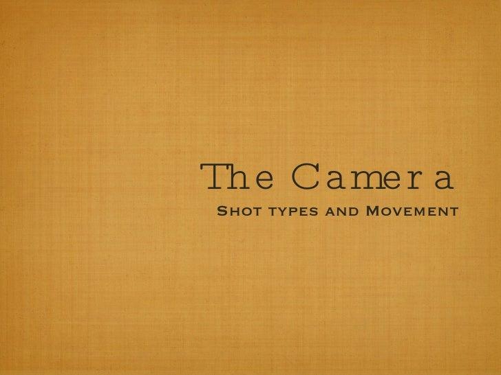 Intro to camera