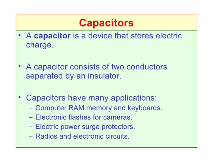 Intro To Capacitors