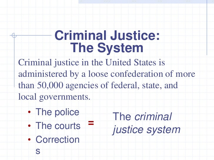 the u.s. criminal justice program essay Following is an expert-written essay example on the topic of components of the criminal justice system don't hesitate to read it at your convenience.