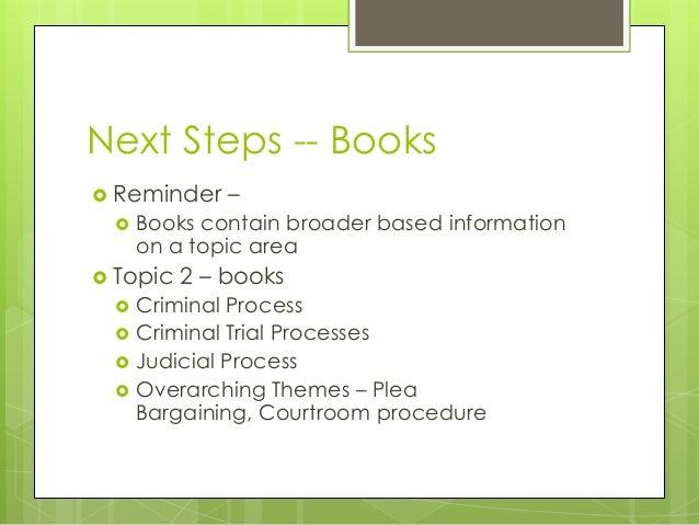Trial Process Steps Criminal Trial Processes
