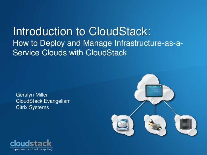 Introduction to CloudStack