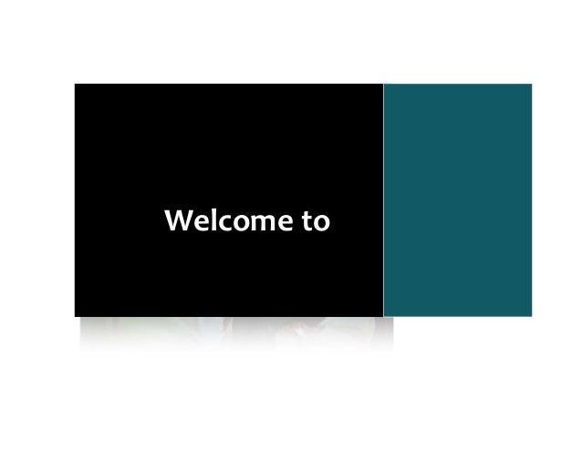 Welcometo