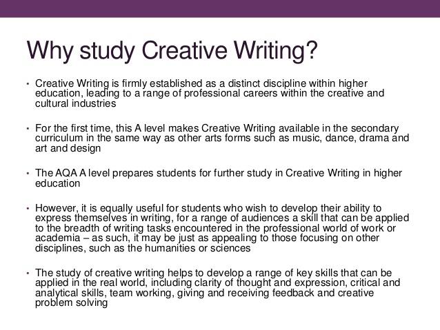 jobs in creative writing