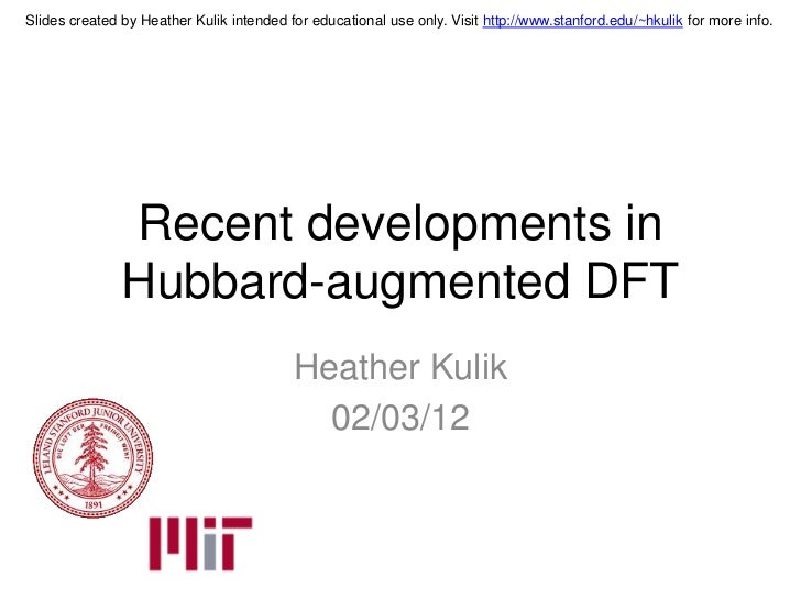 Slides created by Heather Kulik intended for educational use only. Visit http://www.stanford.edu/~hkulik for more info.   ...