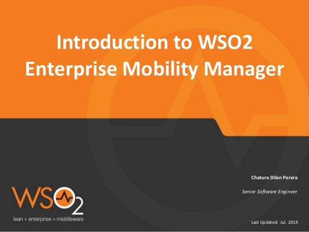 Introduction to Enterprise Mobility Manager