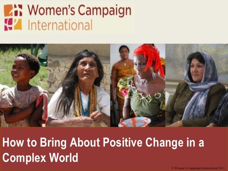 Intro to Global Awareness and WCI