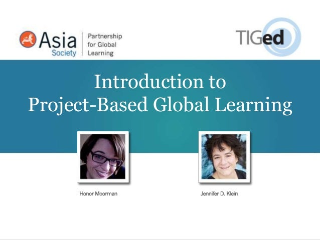 Intro to Global PBL - GEC 2012
