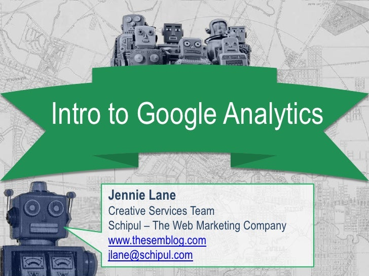 Intro to Google Analytics