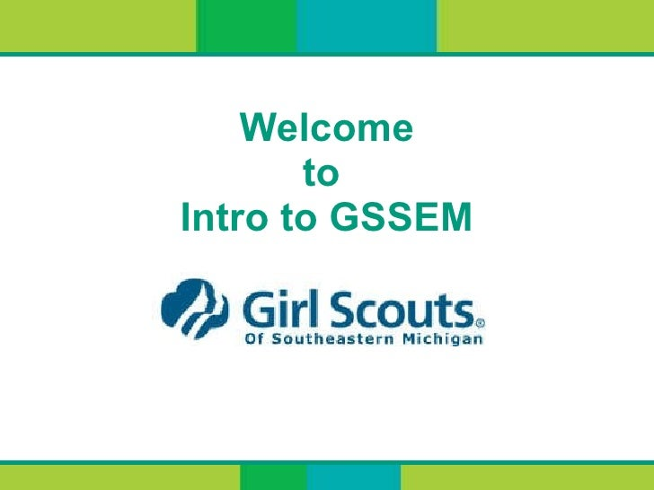 Welcome to  Intro to GSSEM