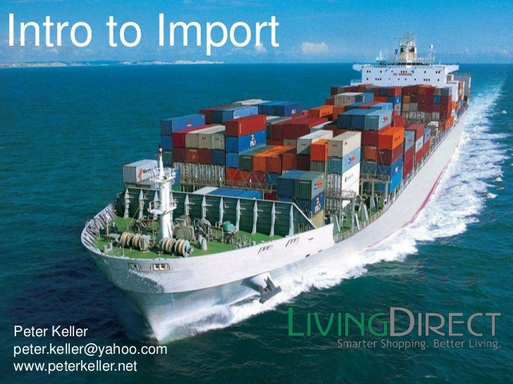 Intro to import