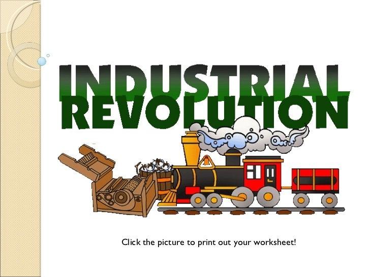 Intro to industrial revolution