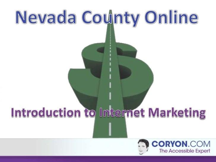 Creating and Marketing a Website         Coryon Redd         coryon@batteries4less.com         Coryon.com         Presente...