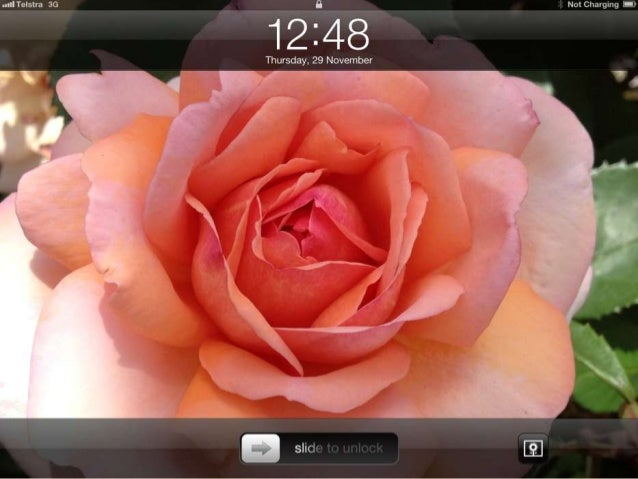 Intro to iPad    Tutorial & Activitiesby Mandy Billingsley (February 2013)