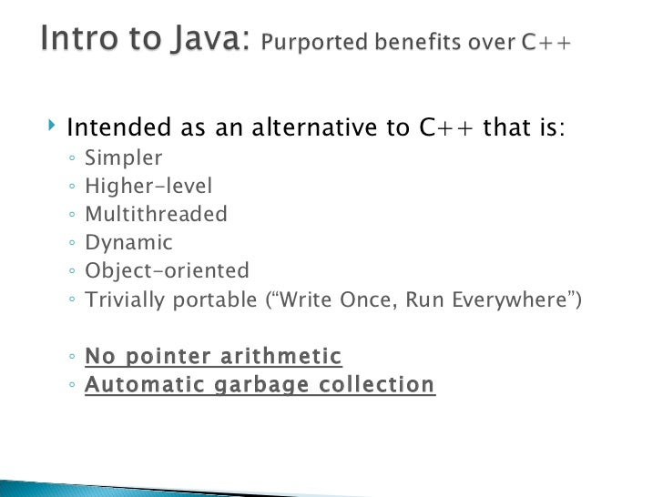 Y No Pointers In Java Everywhere     No pointer