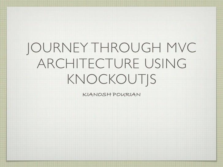 Intro to KnockoutJS