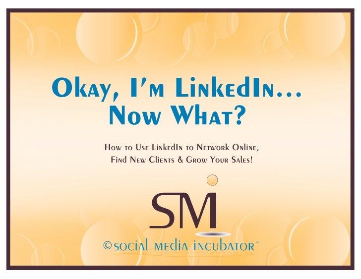 Intro to LinkedIn