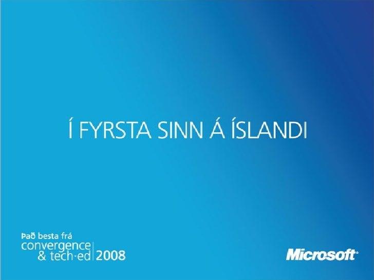 Introducing Windows Live Framework     Dr. Neil Roodyn