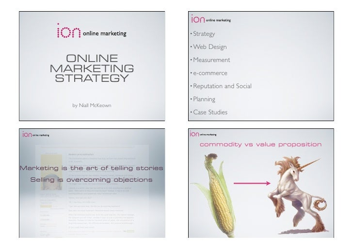Intro to Online Marketing (Donegal CEB / Ion Online Marketing / LYIT)